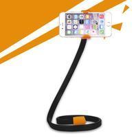 Selfies X1 tvarovatelný stojan/držák na mobil - oranžový
