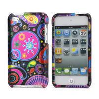 Plastové pouzdro na iPod Touch 4 - barevné vzory