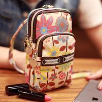 Funs mini kapsičkový batůžek pro mobily až do 160 x 80 mm a další předměty - coffee