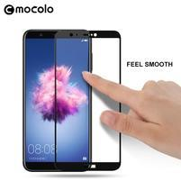 MLC celopločné tvrzené sklo na Huawei P Smart - černé