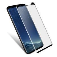IMAK celoplošné tvrzené sklo na Samsung Galaxy S9 - černý lem