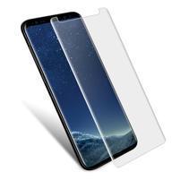 IMAK celoplošné tvrzené sklo na Samsung Galaxy S9 - transaprentní lem