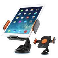 RotateCar otočný držák tabletu v rozměru 92 - 205 mm do auta - oranžový
