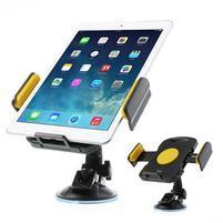 RotateCar otočný držák tabletu v rozměru 92 - 205 mm do auta - žlutý