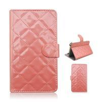 Luxury univerzální pouzdro na mobil do 148 x 76 x 21 mm - růžové