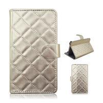 Luxury univerzální pouzdro na mobil do 148 x 76 x 21 mm - zlaté
