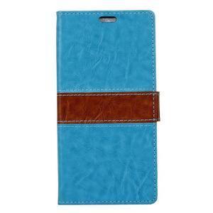 Colory knížkové pouzdro na Lenovo K5 Note - modré - 1