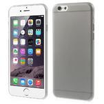 Ultra slim 0.3 mm plastové pouzdro na iPhone 6, 4.7  - šedé - 1/5