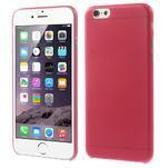 Ultra slim 0.3 mm plastové pouzdro na iPhone 6, 4.7  - červené - 1/5