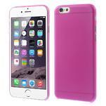 Ultra slim 0.3 mm plastové pouzdro na iPhone 6, 4.7  - růžové - 1/5