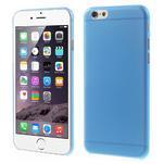 Ultra slim 0.3 mm plastové pouzdro na iPhone 6, 4.7  - modré - 1/5