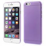 Ultra slim 0.3 mm plastové pouzdro na iPhone 6, 4.7  - fialové - 1/5