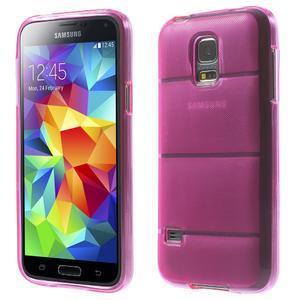 Gelové pouzdro na Samsung Galaxy S5 mini G-800- vesta růžová - 1