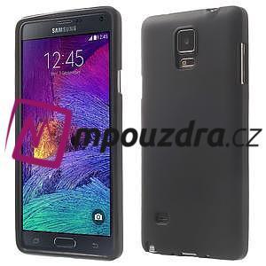 Gelové pouzdro na Samsung Galaxy Note 4- černé - 1