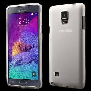 Gelové pouzdro na Samsung Galaxy Note 4- transparentní - 1