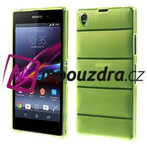 Gelové Body pouzdro na Sony Xperia Z1 C6903 - zelené - 1
