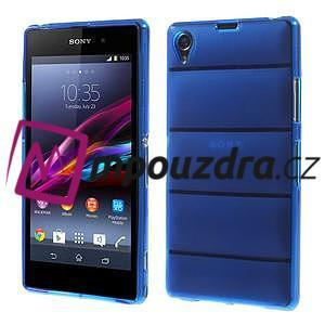 Gelové Body pouzdro na Sony Xperia Z1 C6903 - modré - 1