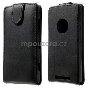 Flipové pouzdro na Nokia Lumia 830 - černé - 1