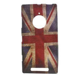 Gelové pouzdro na Nokia Lumia 830 - UK vlajka - 1