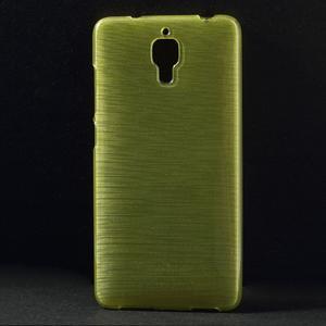Gelové Cover pouzdro na Xiaomi Mi4- zelené - 1