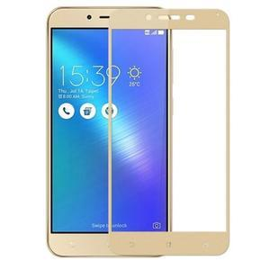 MLC celoplošné tvrzené sklo na Asus Zenfone 3 Max ZC553KL - zlatý lem