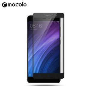 MLC celoplošné ochranné tvrzené sklo na Xiaomi Redmi Note 5A - černé