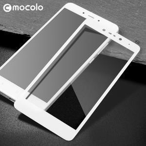 MLC celoplošné ochranné tvrzené sklo na Xiaomi Redmi Note 5A - bílé
