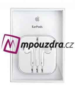 Original APPLE sluchátka EARPODS MD827