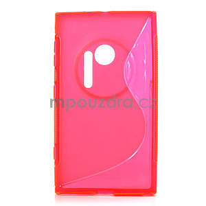 Gelové S-line pouzdro pro Nokia Lumia 1020- růžové - 1