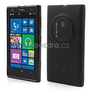 Gelové matné pouzdro pro Nokia Lumia 1020- černé - 1