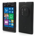 Gelové matné pouzdro pro Nokia Lumia 1020- černé - 1/6