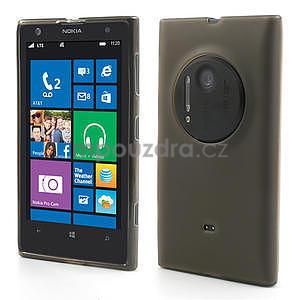Gelové matné pouzdro pro Nokia Lumia 1020- šedé - 1
