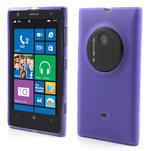 Gelové matné pouzdro pro Nokia Lumia 1020- fialové - 1/5