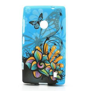 Gelové pouzdro na Nokia Lumia 520- motýl - 1