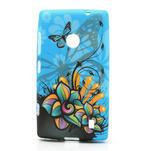 Gelové pouzdro na Nokia Lumia 520- motýl - 1/6
