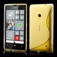 Gelové S-line pouzdro na Nokia Lumia 520- transparentní - 1/6