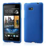 Gelové matné pouzdro pro HTC Desire 600- modré - 1/6