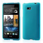 Gelové matné pouzdro pro HTC Desire 600- světlemodré - 1/6