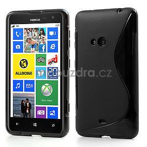 Gelové S-line pouzdro pro Nokia Lumia 625- černé - 1