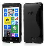 Gelové S-line pouzdro pro Nokia Lumia 625- černé - 1/6