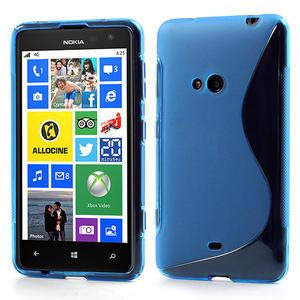 Gelové S-line pouzdro pro Nokia Lumia 625- modré - 1
