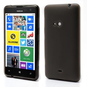 Gelové matné pouzdro pro Nokia Lumia 625- šedé - 1