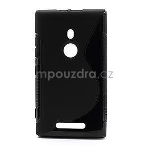 Gelové S-liné pouzdro pro Nokia Lumia 925- černé - 1