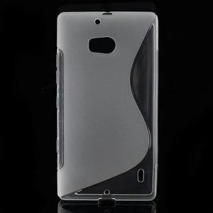 Gelové S-line pouzdro na Nokia Lumia 930- transparentní - 1