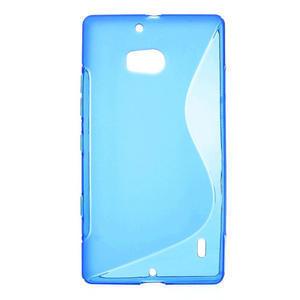 Gelové S-line pouzdro na Nokia Lumia 930- modré - 1