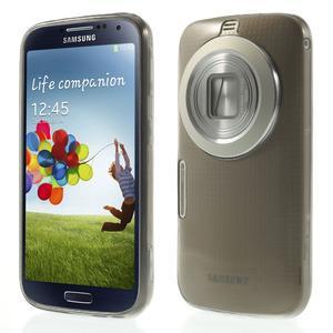 Gelové Ultraslim pouzdro na Samsung Galaxy K Zoom- šedé - 1