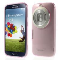 Gelové Ultraslim pouzdro na Samsung Galaxy K Zoom- růžové - 1/6