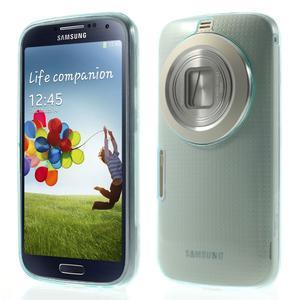 Gelové Ultraslim pouzdro na Samsung Galaxy K Zoom- světlemodré - 1