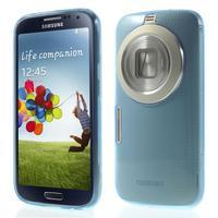 Gelové Ultraslim pouzdro na Samsung Galaxy K Zoom- modré - 1/6