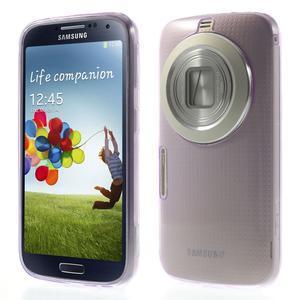 Gelové Ultraslim pouzdro na Samsung Galaxy K Zoom- fialové - 1